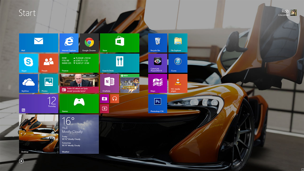 Experimenting With Windows 8 1 Rtm    Rob Crocombe